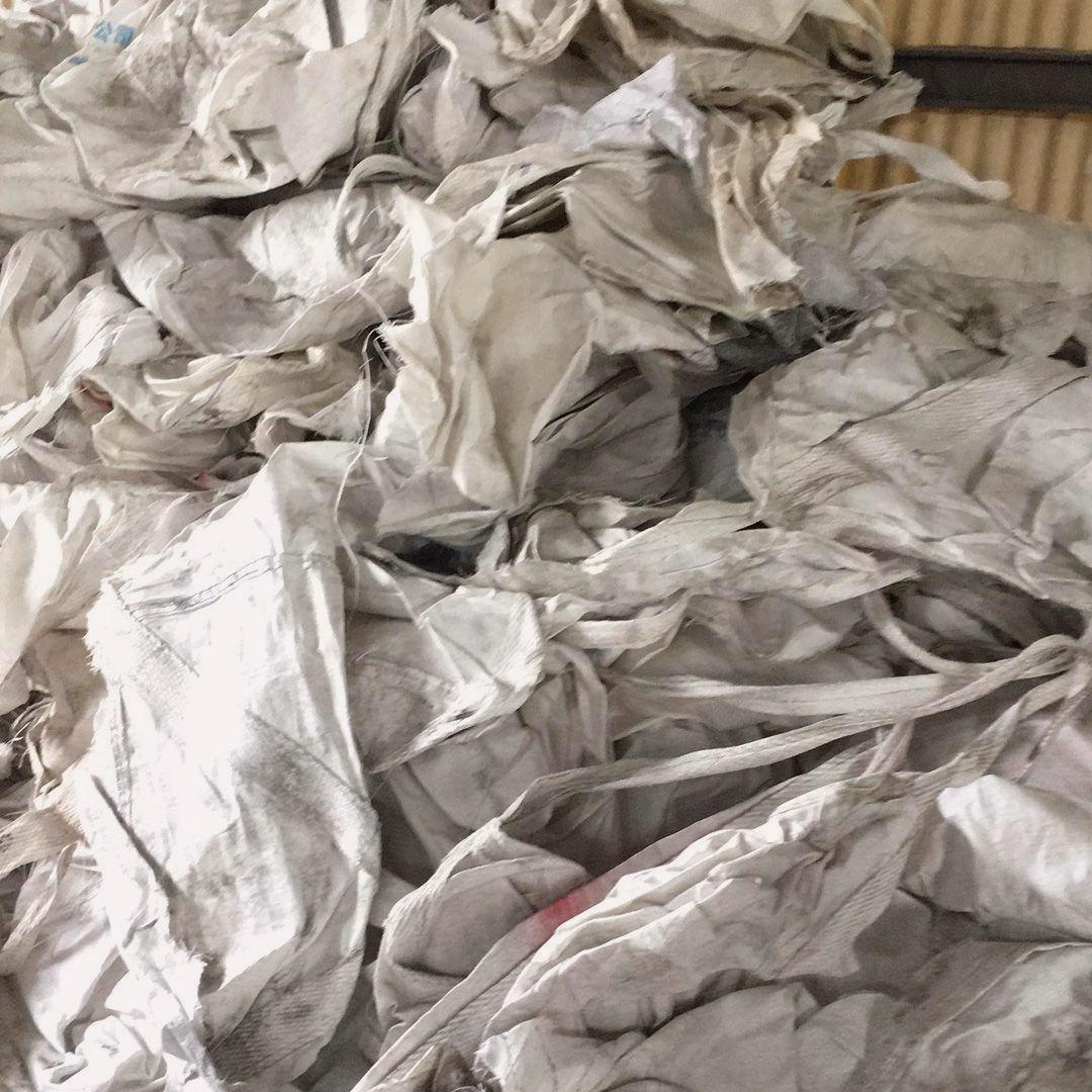 回收废旧纤维袋/ 大量现货废旧吨袋回收