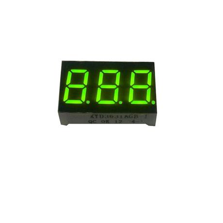 单路测量显示报警仪专用LED数码屏差压变送器专用深圳数码显示屏